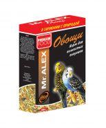 Mr. ALEX Корм для волнистых попугаев Овощи (500 г)