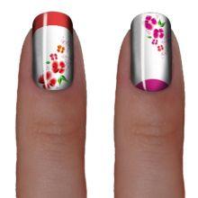 Слайдер-дизайн для ногтей № 0186
