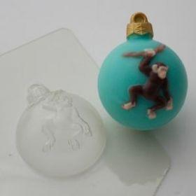 Форма для мыла Шар/Шимпанзе на лиане