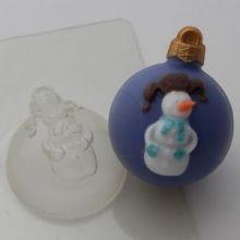 Форма для мыла Шар/Снеговик
