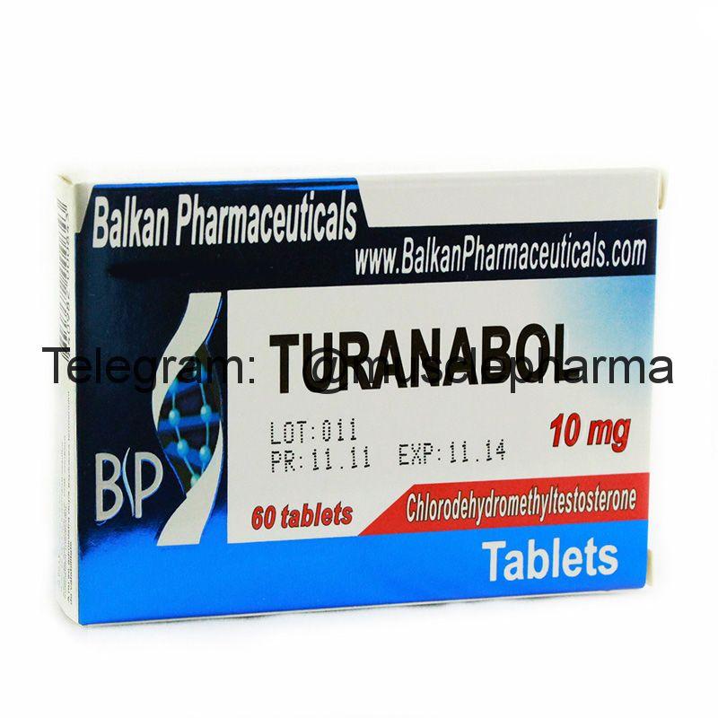 TURANABOL (ТУРИНАБОЛ). 100 таб. по 10 мг.