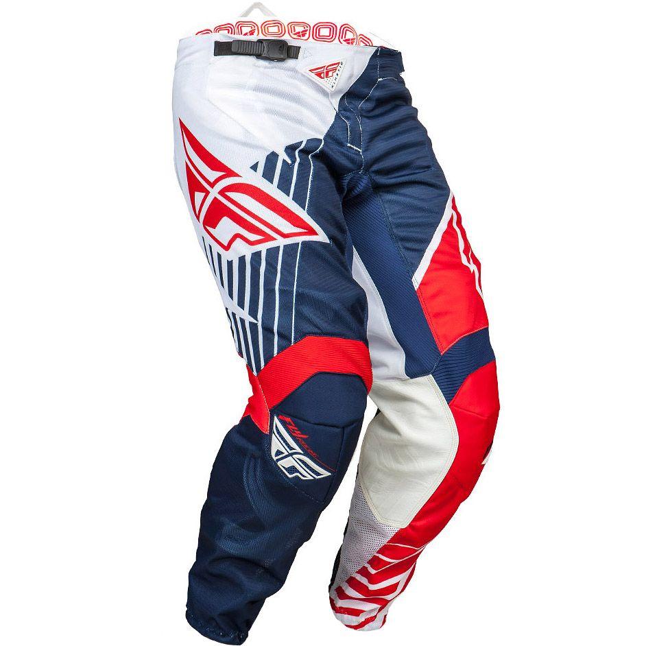 Fly Kinetic Vector Mesh штаны, красно-бело-синие