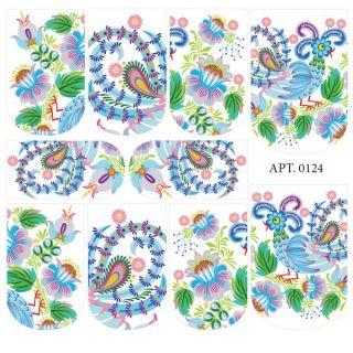 Слайдер-дизайн для ногтей № 0124