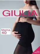 Колготки для беременных Giulia Mama 40 чёрный