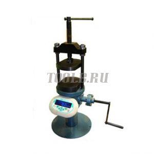 Пресс ПРГ-1-50К (50 кН/5т) - для испытания кирпича на изгиб