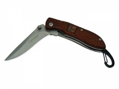 Нож складной Патриот HC-1018 с карабином