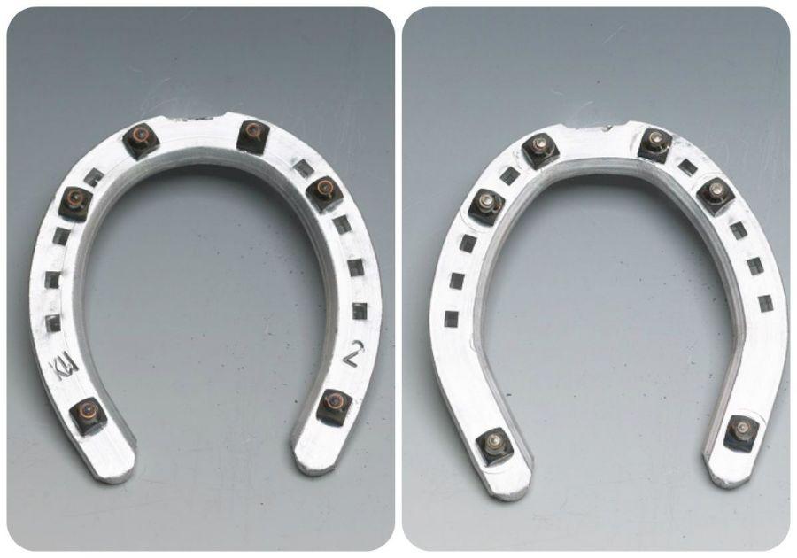 Подковы KW алюминиевые 6х19, ЗИМНИЕ, 6-8 шипов, 11 мм.