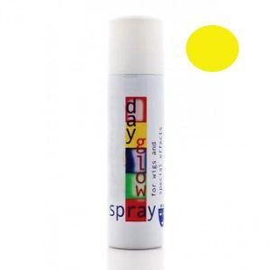 Лак для волос флуоресцентный желтый