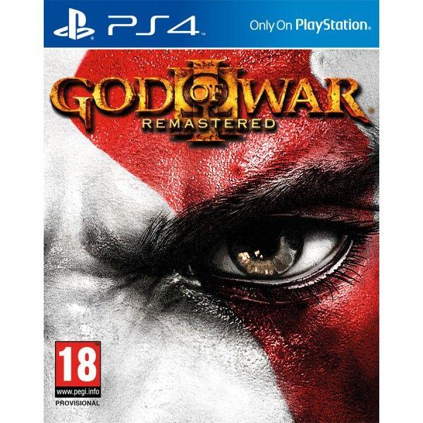 Игра God of war 3. Обновленная версия (PS4)