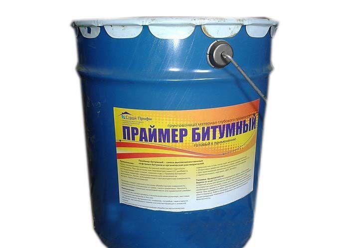 Праймер битумный готовый, 16кг/18л