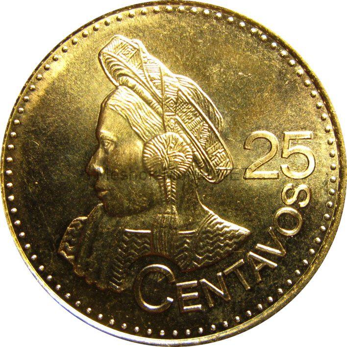 Гватемала 25 сентаво 2011 г.