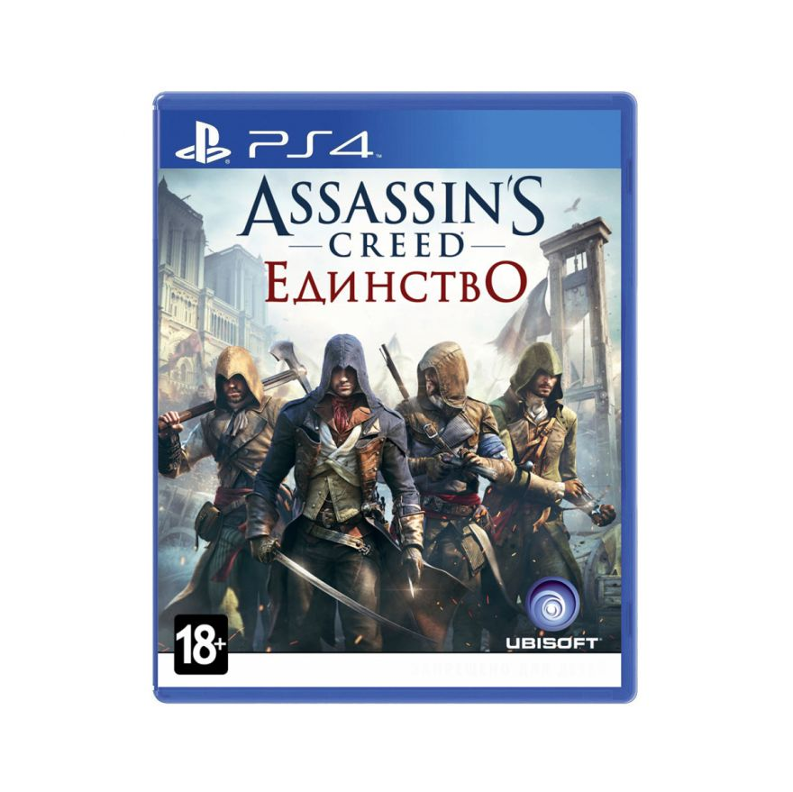 Игра Assassin's Creed Единство (PS4)