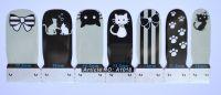 Лаковая пленка для дизайна ногтей, А1018
