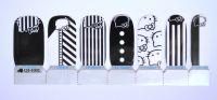 Лаковая пленка для дизайна ногтей, QJ1002