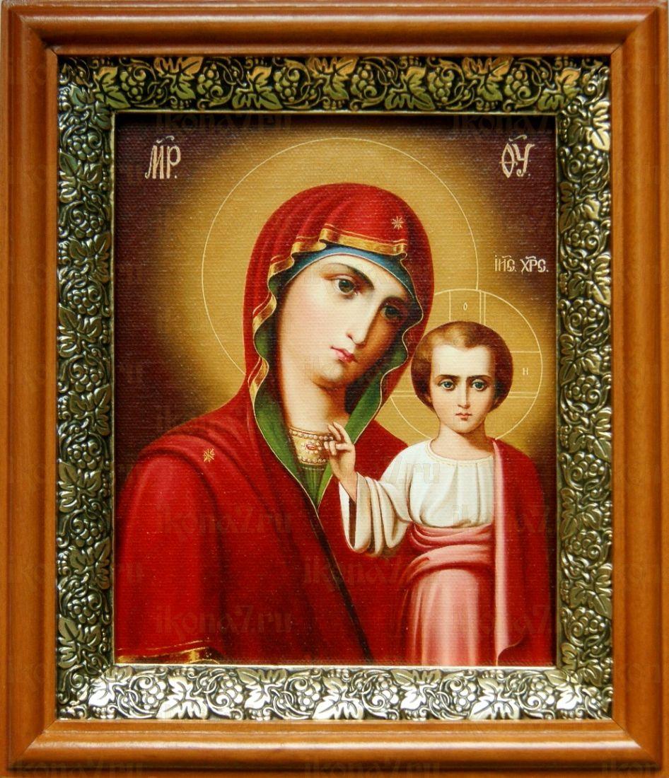 Венчальная пара 10. Казанская икона БМ (19х22)