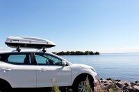 Багажник на крышу Nissan Qashqai (5-dr SUV с 2013 г), Атлант, крыловидные дуги