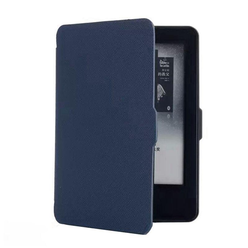 Чехол-обложка Texture для Amazon Kindle Paperwhite 2014/2015 Синяя (с магнитной застежкой)