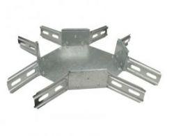Крестообразный соединитель для лотка размер 300х50
