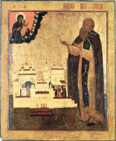 Икона Паисий Угличский (копия 19 века)