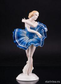 Балерина в синей пачке, Karl Ens, Германия, 1920-30 гг