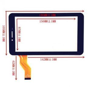 Тачскрин Digma Optima 7.3 3G/Optima 7.4 3G/Optima 7.5 3G/ Irbis TX54/TX71/TX72/TX74/TX75/TX77 ... (black)