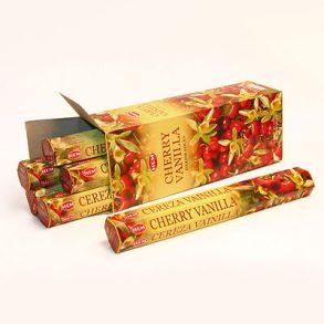 благовония HEM Hexa CHERRY-VANILLA ваниль вишня