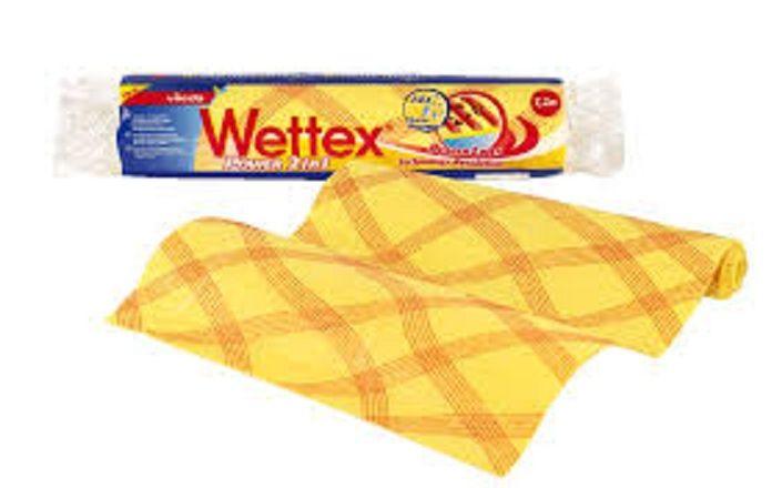 Vileda Wettex Power 2 in1  Ткань в рулоне для уборки 1,2 м