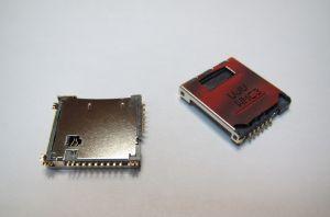 Разъём Samsung C3010/S5230/S5233 (micro SD и sim-карты) Оригинал