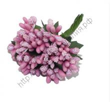 пучок веточек (10 шт) розовый