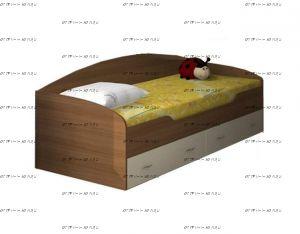 Кровать нижнеярусная Соня-2 (80Х190)