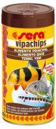 SERA Випачипс Основной корм в форме чипсов для всех придонных рыб (250 мл)