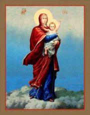 Благодатное небо (рукописная икона)