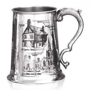 Английская пивная кружка (танкард) Старый Шеффилд SHEFFIELD SCENE