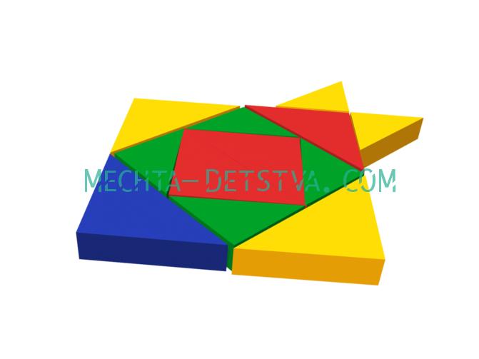 Мягкий модуль «Рыбка» ДМФ-МК-12.95.00