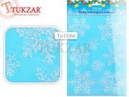 """Наклейки """"Снежинки"""" с блестками, 48х30.5 см (арт. Tz-13164)"""
