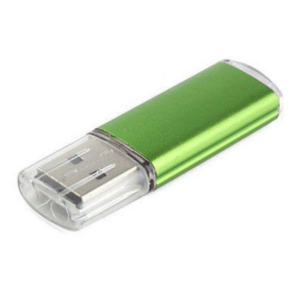 64GB USB-флэш накопитель Apexto U307B, зеленый с прозрачным колпачком