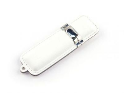 8GB USB-флэш накопитель Apexto U503D гладкая белая кожа OEM