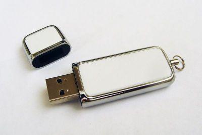 64GB USB-флэш накопитель Apexto U503G гладкая белая кожа OEM
