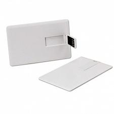 64GB USB-флэш накопитель Apexto U504E-W кредитная карточка белая