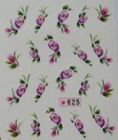 Наклейки на водной основе для дизайна ногтей №625