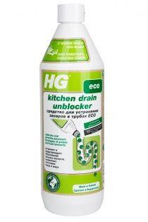 HG Eco Средство для устранения засоров в трубах