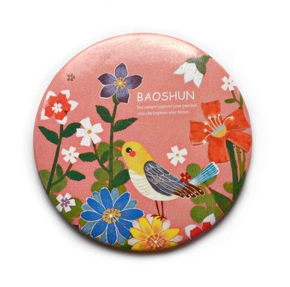 "Карманное зеркало ""Paradise Birds"" - Pink"