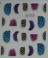 Наклейки на водной основе для дизайна ногтей №1717
