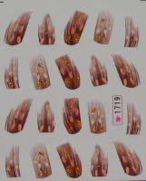 Наклейки на водной основе для дизайна ногтей №1719
