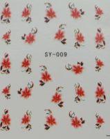 Наклейки на водной основе для дизайна ногтей SY009