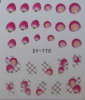 Наклейки на водной основе для дизайна ногтей SY770