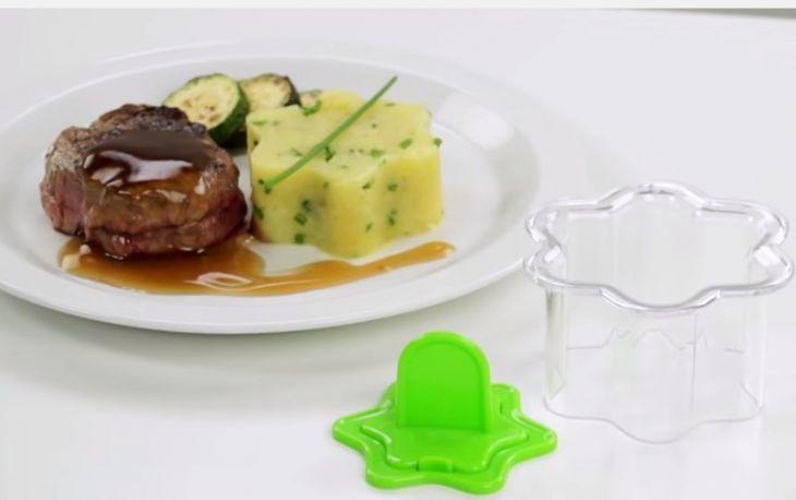 Формочки для придания блюдам формы ЦВЕТЫ 2 шт PRESTO 422220
