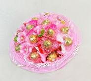 """606 Букет из конфет по акции """"Розовая фантазия"""""""