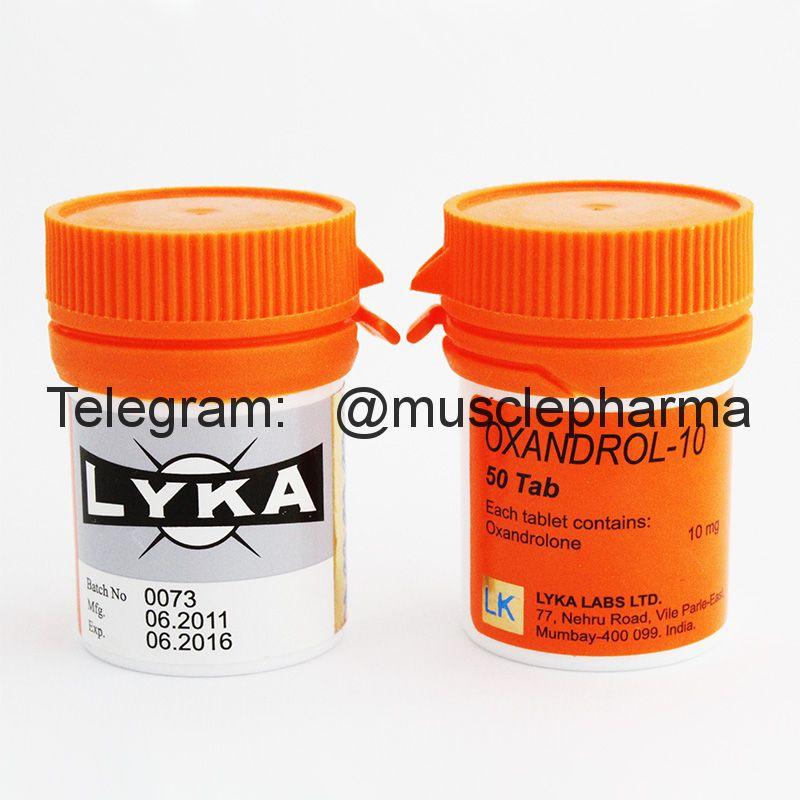 OXANDROL-10 (ОКСАНДРОЛОН). 50 таб. по 10 мг.