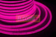 Гибкий неон светодиодный, постоянное свечение, розовый, 220В, бухта 50м NEON-NIGHT